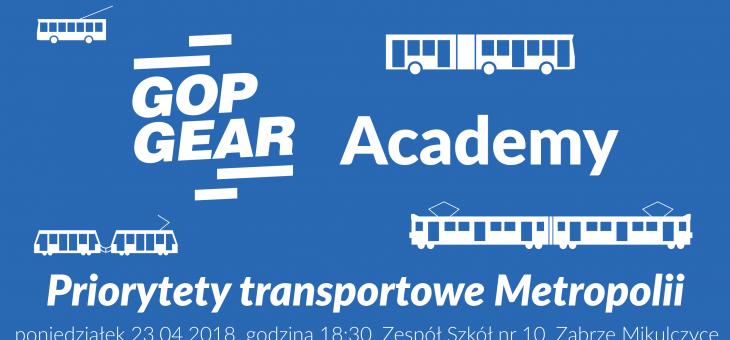 GOPgear Academy – Priorytety transportowe Metropolii. PODSUMOWANIE